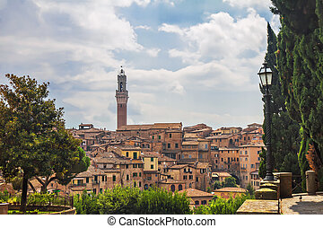 View of the Siena