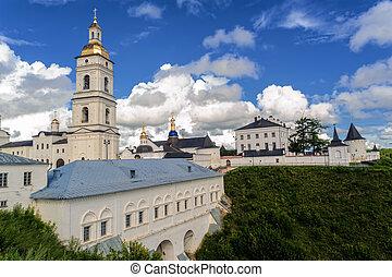 View of the Sofia vzvoz. Tobolsk Kremlin