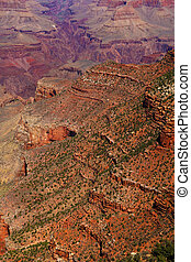 View of the south rim, Grand Canyon National Park.