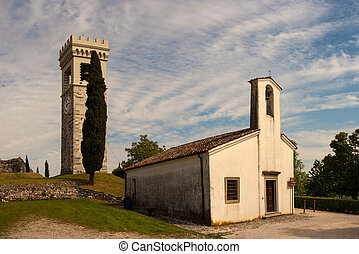 St. Michael in the castle church, Fagagna