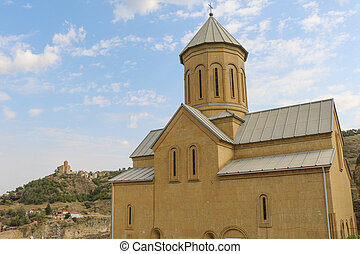 View of the St Nikolas church