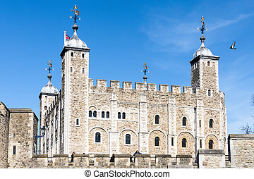 View of the Tower of London