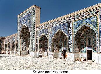 Tilla-Kari medressa - Registan - Samarkand - Uzbekistan