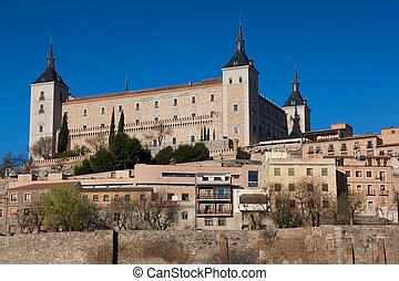 View of Toledo, Castilla la Mancha, Spain