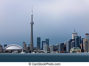 View of Toronto from Toronto Island