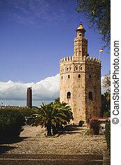 View of Torre del Oro
