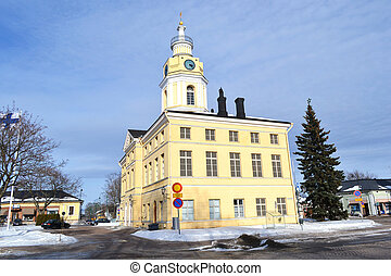 Town Hall in Hamina - View of Town Hall in Hamina, Finland