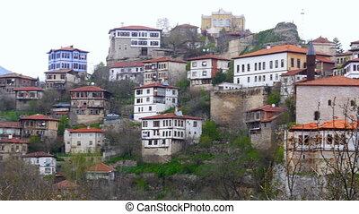 """View of Traditional Ottoman Anatolian Village, Safranbolu, ..."