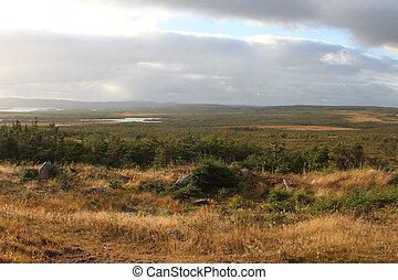 Trinity, Newfoundland,Canada - view of Trinity,...
