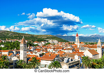 View of Trogir old town