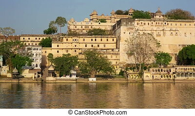 View of Udaipur, Rajasthan - Magnificent view of Udaipur,...