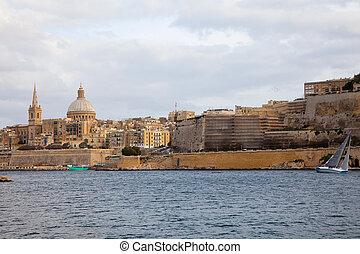 View of Valletta. Malta