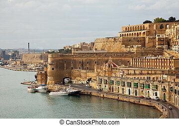 View of Valletta, Malta