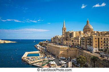 View of Valletta, the capital of Malta