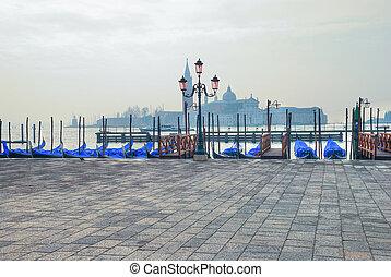 view of Venice with San Giorgio