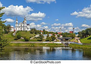 View of Vitebsk, Belarus - View of Vitebsk from Western ...