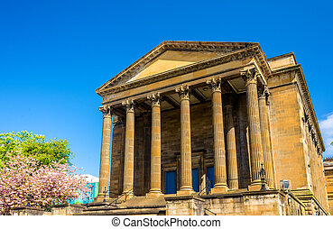View of Wellington Church in Glasgow - Scotland
