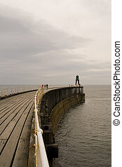 View of Whitby Harbour
