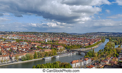 View of Wurzburg, Germany