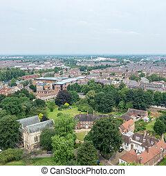 View of York, England.