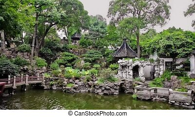 View of Yuyuan garden in Shanghai , Shanghai, China