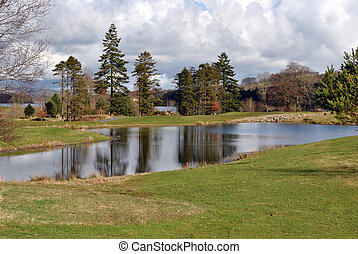 view on a golf course