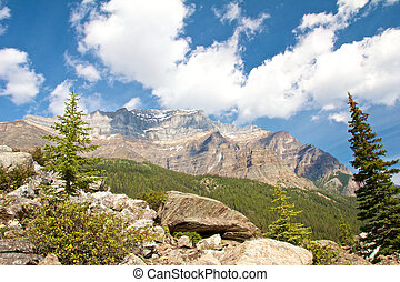 View on a Rocky Mountain Range
