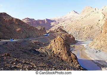 View on Atlas Mountains, Morocco