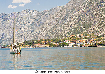 View on bay of Kotor