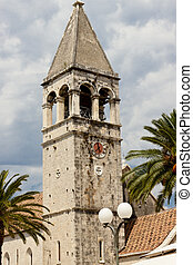 View on bell tower - Trogir
