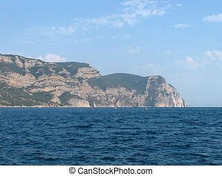 Black Sea seaside in Crimea