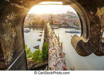 View on Charles Bridge