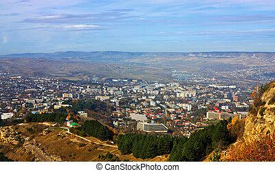 View on city Kislovodsk.