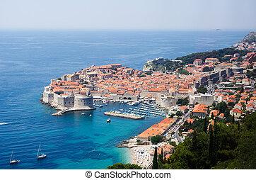 View on Dubrovnik, Croatia