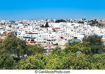 Faro town in Portugal - view on Faro town in Portugal