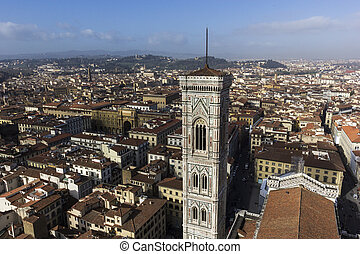 View on Florence from Brunelleschi's Dome