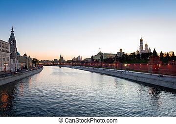 View on Kremlin from river