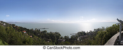 View on Lake Balaton at Tihany