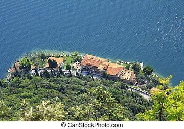 view on lake Garda - View on lake Garda and the West Coast...