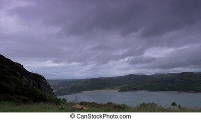 View On Loch Ewe, Poolewe, Scotland - Native Version -...