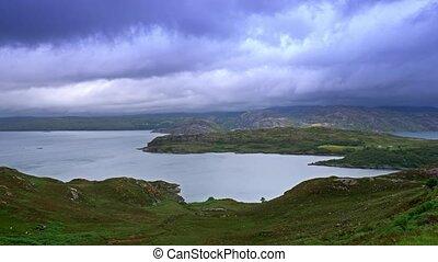 View On Loch Ewe, Poolewe, Scotland - Graded Version -...