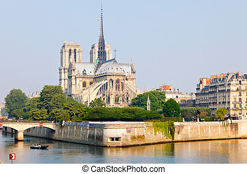 View on Notre Dame de Paris