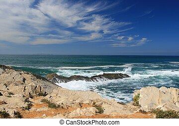 View on ocean