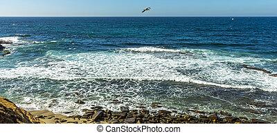 View  on ocean.