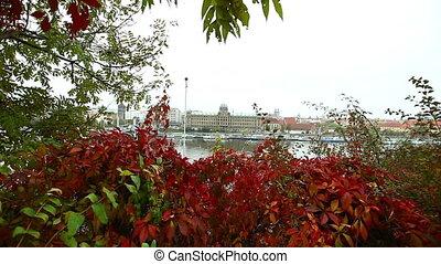 View on other side of Vltava river, Prague