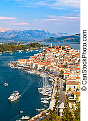 View on Poros, Greece