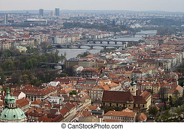 View on Prague Bridges
