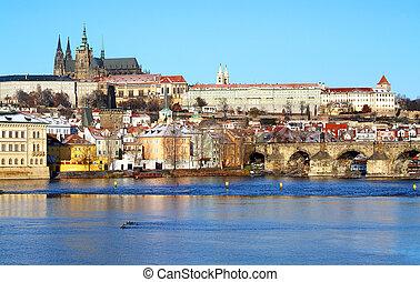 View on Prague castle