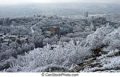 View on Pyatigorsk city
