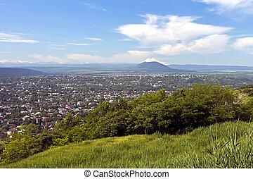 View on resort Pyatigorsk.